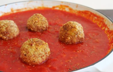 Vegan meatballs ヴィーガンミートボール