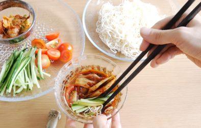 Vegan somen-tofu-noodles ヴィーガンそうめん