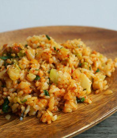 Fried-rice-with-gyoza-stuffing