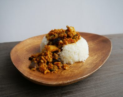 vegan Japanese dry curry ヴィーガンドライカレー