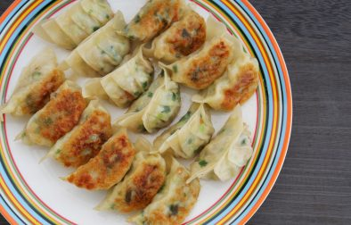 vegan Japanese dumplings gyoza