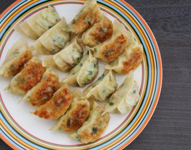vegan Japanese dumplings gyoza