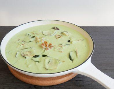 vegan-thai-green-curry ヴィーガンタイグリーンカレー